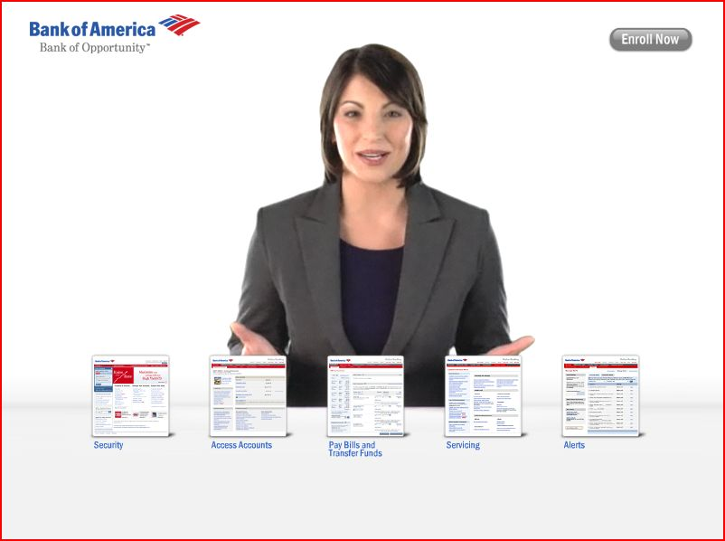 bank of america chat session