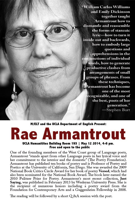 Rae-Armantrout-Poster